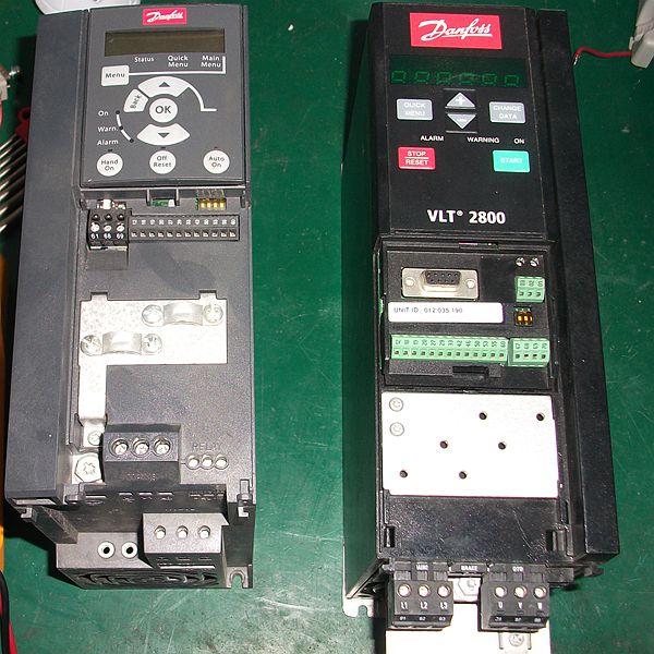 丹佛斯vt2900变频器维修